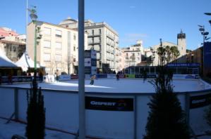 Pista de gel a Girona 2010