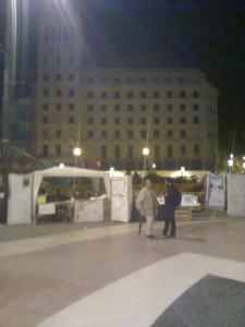 acampadabcn: espai de Sant Antoni